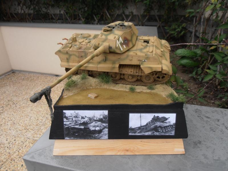 Mon tiger II( montage et dio termine ) [1/35 Tamiya] Pa230611