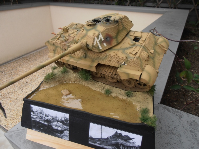 Mon tiger II( montage et dio termine ) [1/35 Tamiya] Pa230711