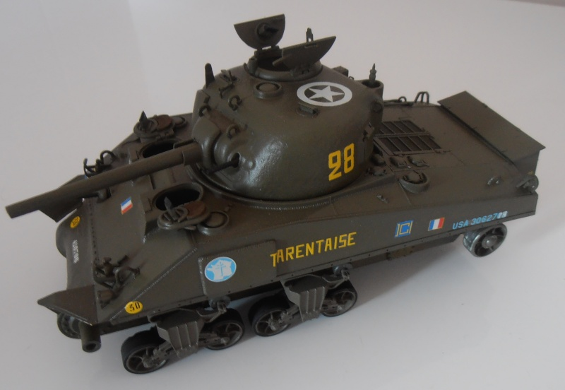 """Sherman M4A2 """" tarentaise """" et AMM 8 """" Massy """" ( la deco ). Pa261210"""