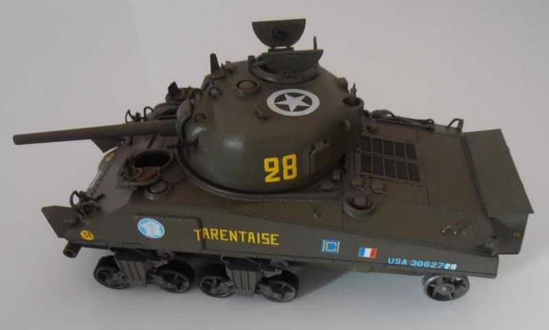 """Sherman M4A2 """" tarentaise """" et AMM 8 """" Massy """" ( la deco ). Pa261213"""