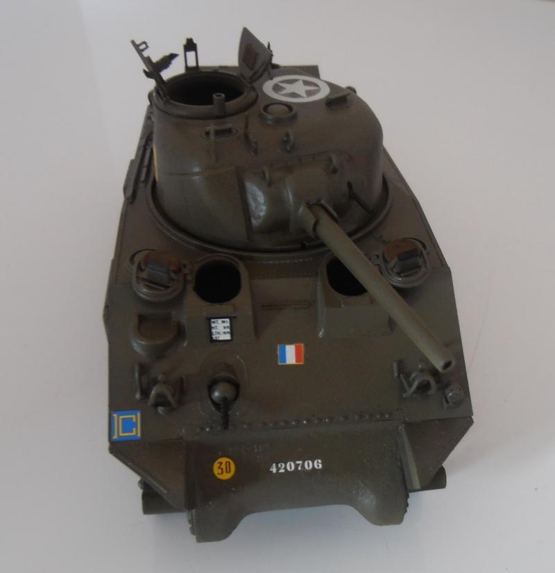 """Sherman M4A2 """" tarentaise """" et AMM 8 """" Massy """" ( la deco ). Pa261214"""