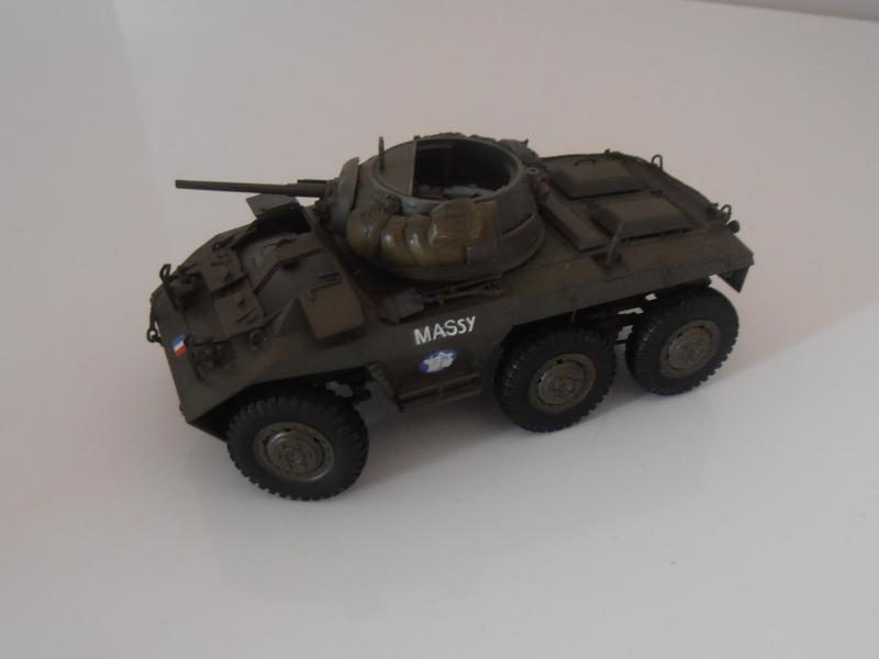 """Sherman M4A2 """" tarentaise """" et AMM 8 """" Massy """" ( la deco ). Pa261310"""