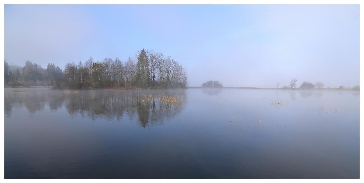 Lac au petit matin Remora10