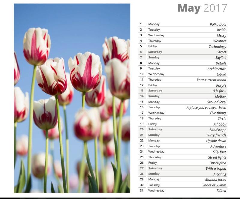 photo challenge mai May10