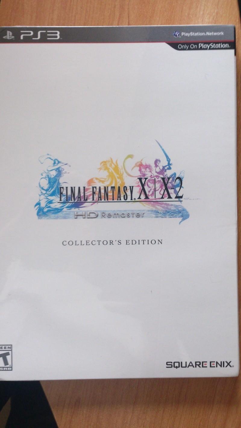ma commande complete enfin recue final fantasy x remaster  Dsc_0226