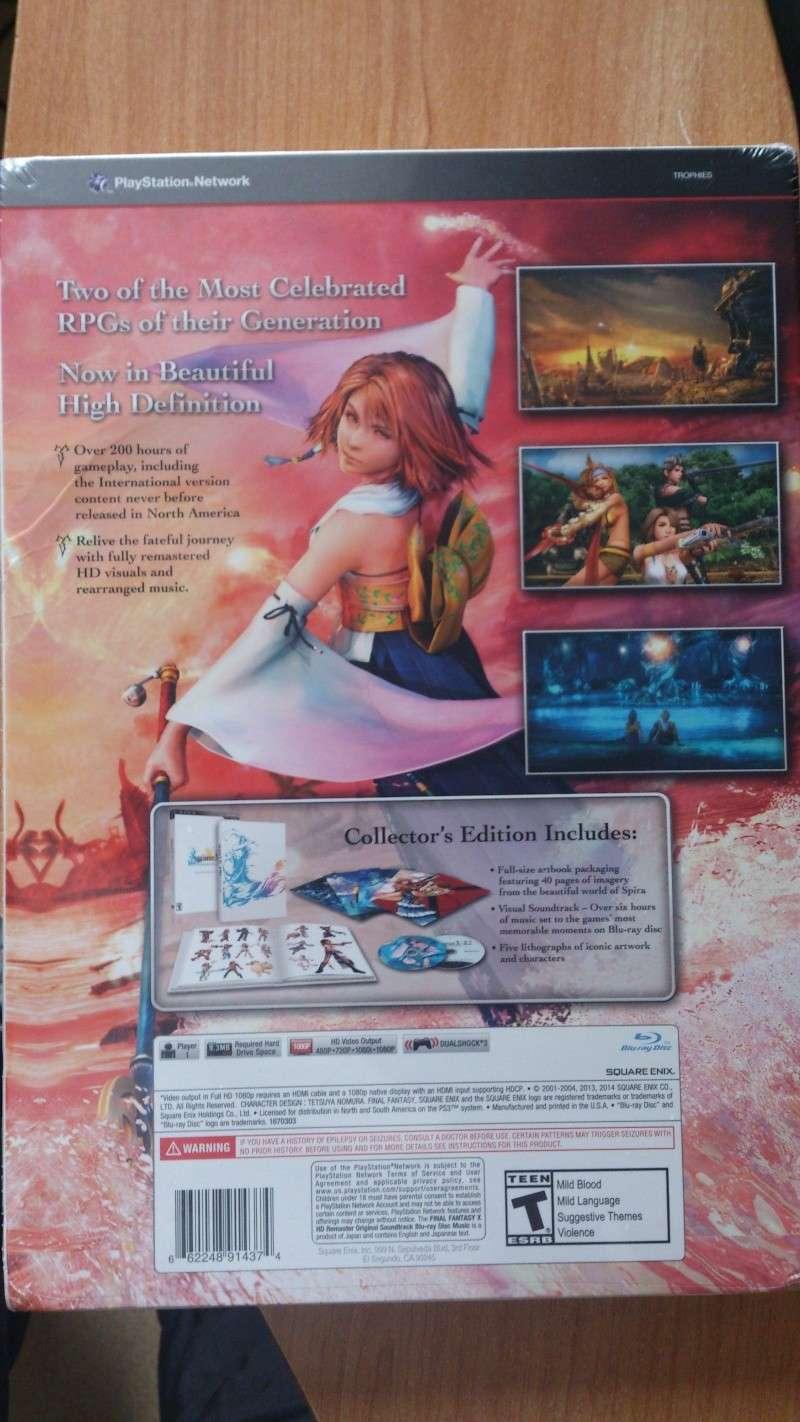 ma commande complete enfin recue final fantasy x remaster  Dsc_0227