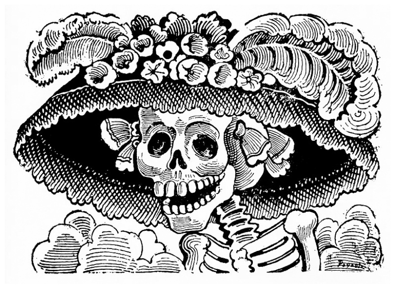Frida Kahlo et Diego Rivera: l'art en fusion Posada11