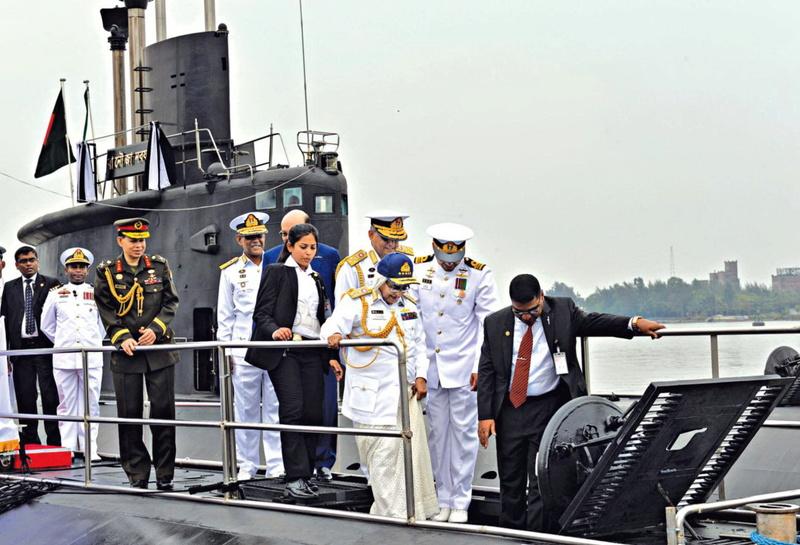 Bangladesh : sous-marins type 035G Nabaja10