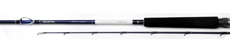 Stevo's Daiwa saltist braid special 12 - 20lb boat rod review Stb-vi10