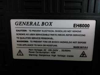 General box EH6000,National MATIC LED32L5500 Main: SINHO 090-590075-90 44cb7110