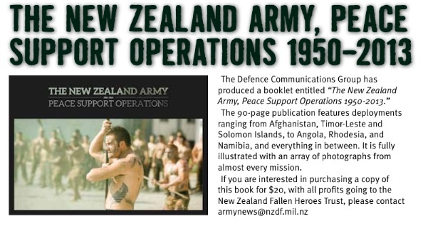 NZ Army Peace Support Operations Image23