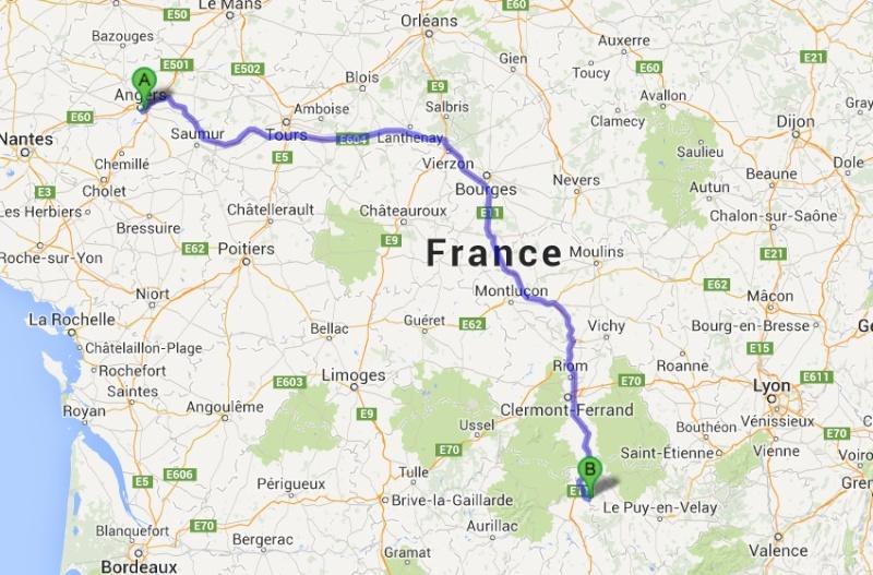 TRES URGENT COVOITURAGE  La Mayenne (53) Ambert (63)    A27