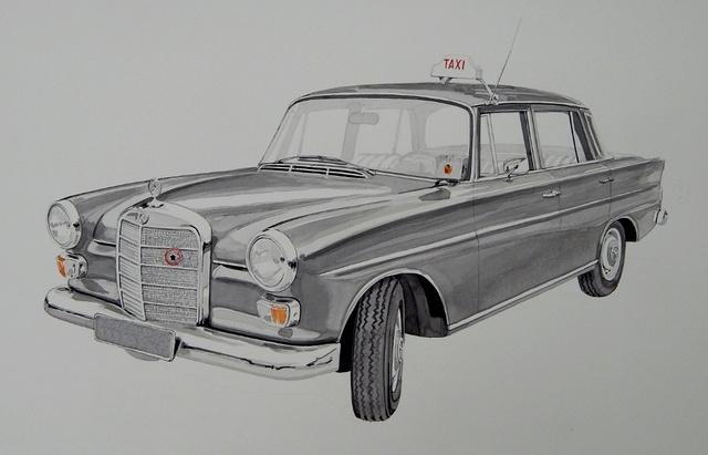 Gérard CREVON - Atelier de Blainville Taxi_m10