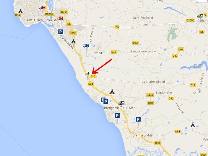 Recherche coin sympas entre Royan et Noirmoutier pour cette été 110