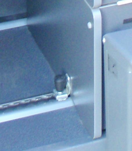 montage du coffre WC Westfalia Popo210