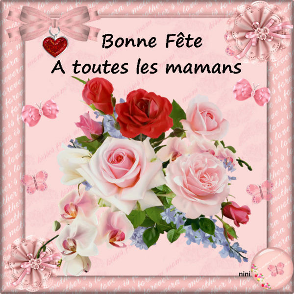 Bon Dimanche    -  Féte des Mères  D4298d10