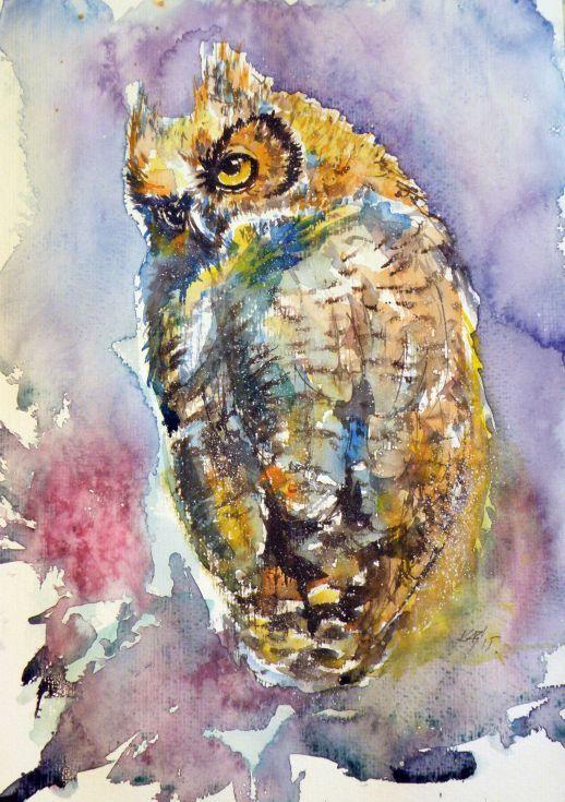 Les animaux peints à l'AQUARELLE - Page 5 1b79ed10