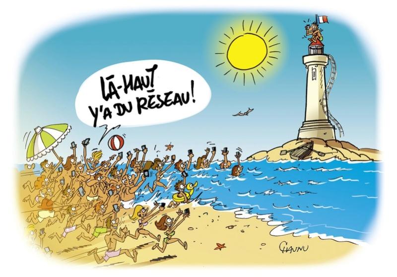 """Illustrations ... pour l'été ... Plage et """"farniente"""" ... - Page 13 286-1310"""