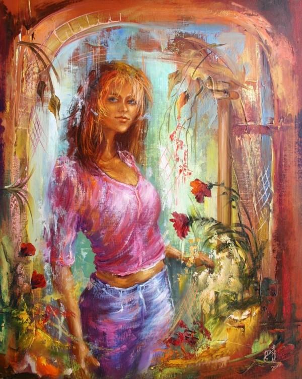 La  FEMME  dans  l' ART - Page 10 654f0d10