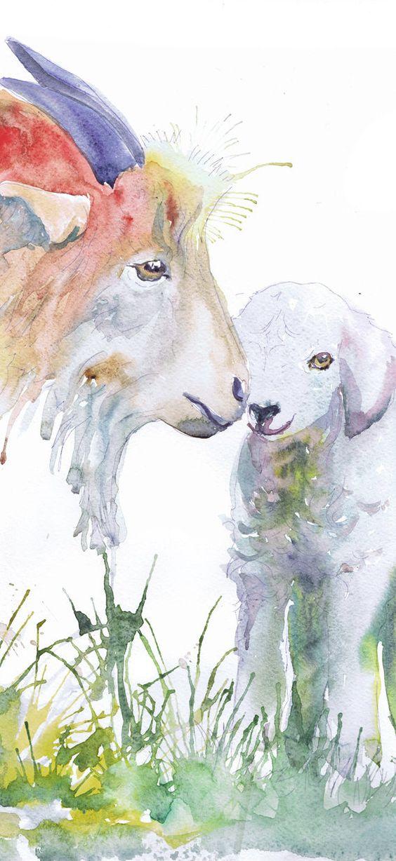Les animaux peints à l'AQUARELLE - Page 6 7a069f10