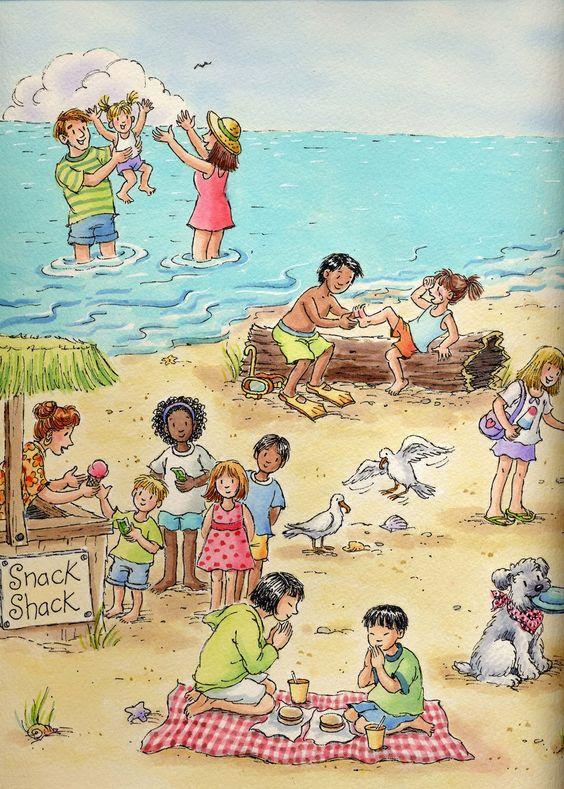 """Illustrations ... pour l'été ... Plage et """"farniente"""" ... - Page 13 84a8cc10"""