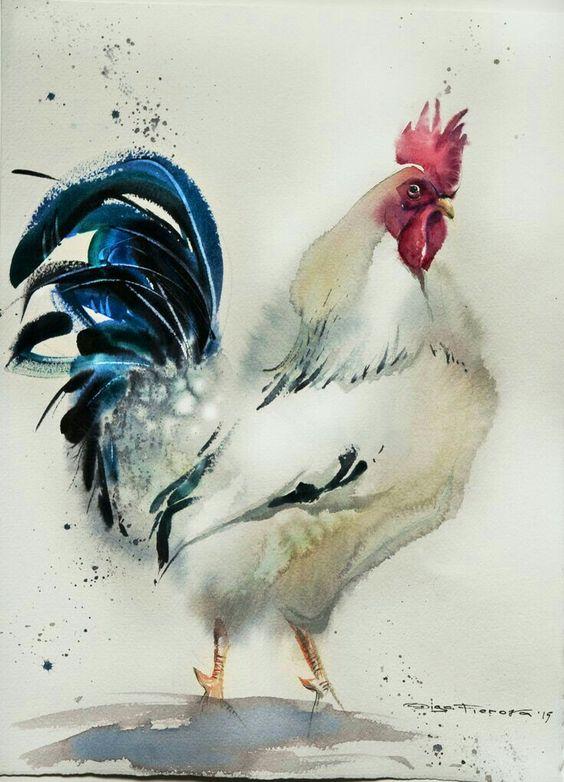 Les animaux peints à l'AQUARELLE - Page 6 8c6eaf10
