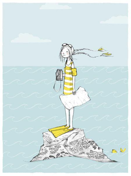 """Illustrations ... pour l'été ... Plage et """"farniente"""" ... - Page 13 99258410"""