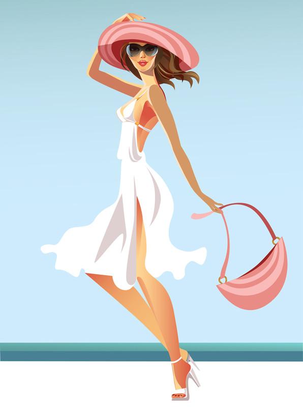 """Illustrations ... pour l'été ... Plage et """"farniente"""" ... - Page 13 A4154e10"""