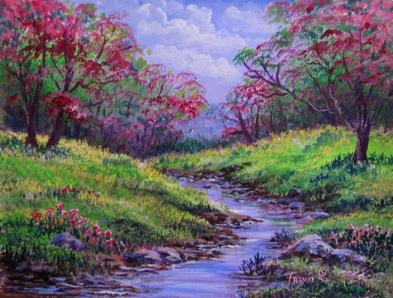L'eau paisible des ruisseaux et petites rivières  - Page 13 Alittl10