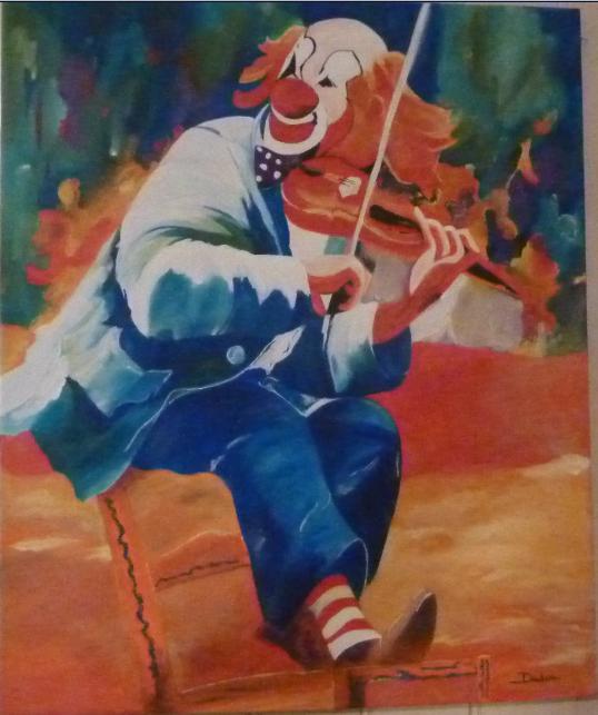 """"""" La Musique adoucit les moeurs """" ( Aristote ) - Page 5 Clown_10"""