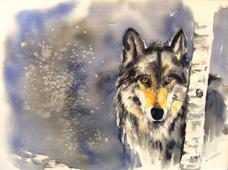 Les animaux peints à l'AQUARELLE - Page 6 Dscf9110