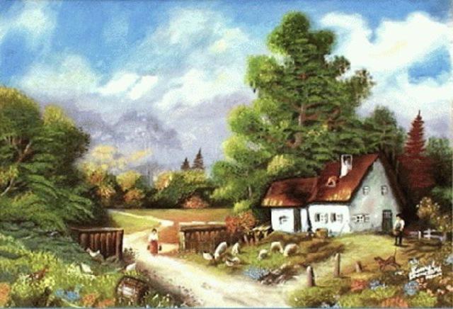 Tous les paysages en peinture. - Page 8 My_vil10