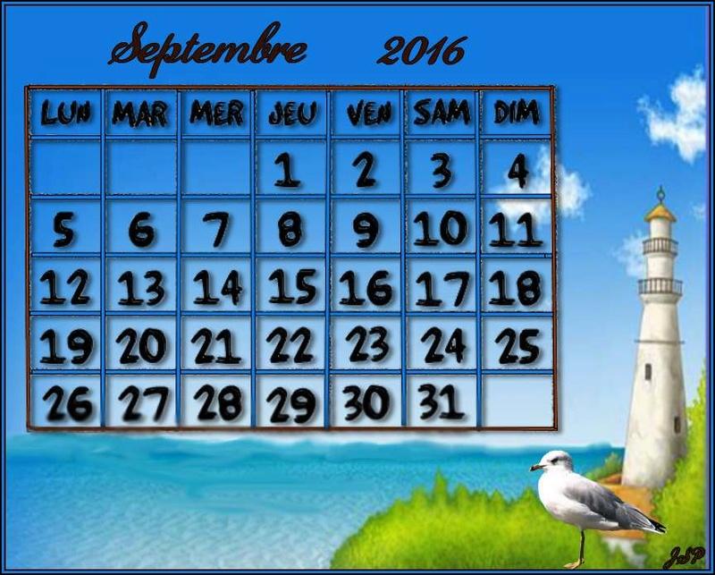 CALENDRIERS ORIGINAUX DES MOIS DE L ANNEE PAR ORDRE ALPHABETIQUE - Page 41 Sept_210
