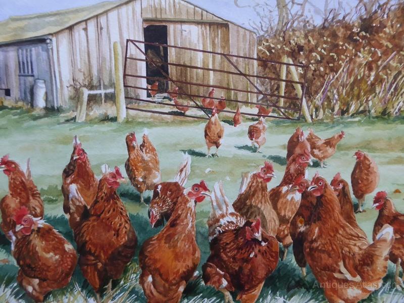 Les animaux peints à l'AQUARELLE - Page 6 Waterc10