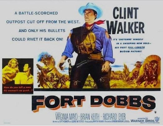 Sur la piste des Comanches - Fort Dobbs - 1958 - Gordon Douglas B_1_0_10