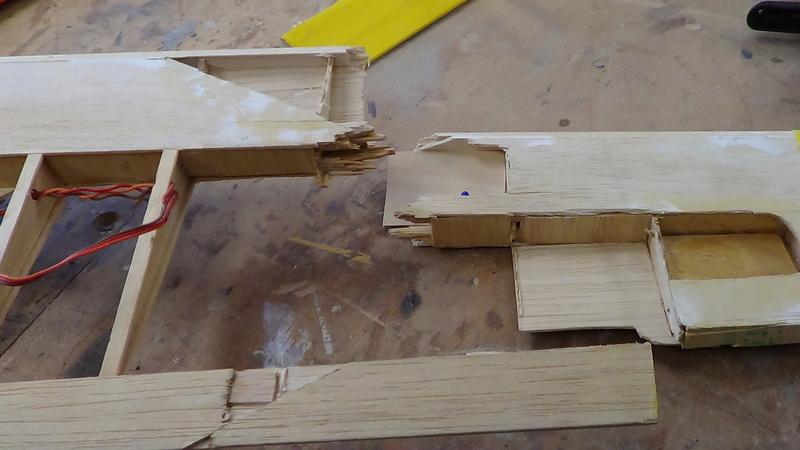 reparation aile OPTIMIST Dsc01529