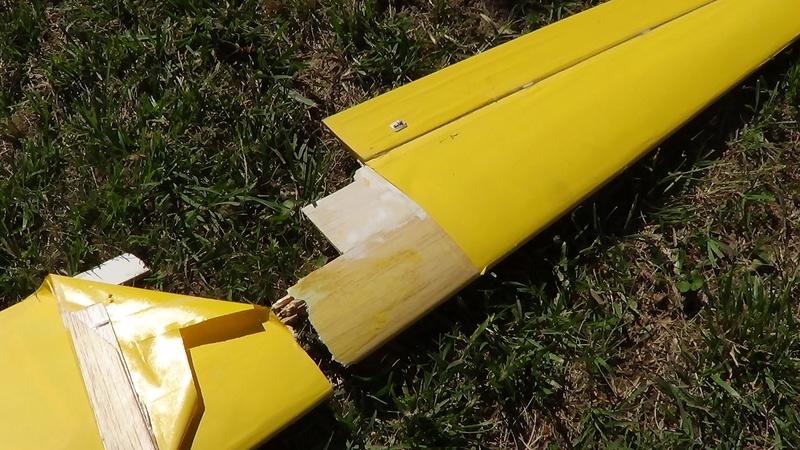 reparation aile OPTIMIST Dsc01530