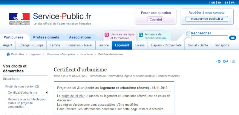 [ TECHNOLOGIE DU BATIMENT ] PIECES ADMINISTRATIVES - CERFA et Info complementaires Cu110