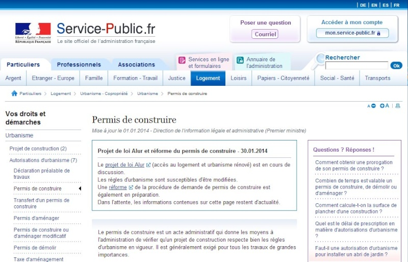 [ TECHNOLOGIE DU BATIMENT ] PIECES ADMINISTRATIVES - CERFA et Info complementaires Pc_grl10