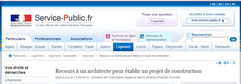 [ TECHNOLOGIE DU BATIMENT ] PIECES ADMINISTRATIVES - CERFA et Info complementaires Recour10