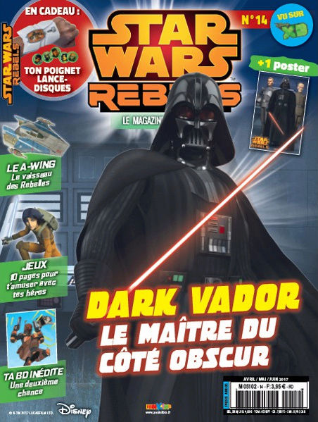Magazine Panini STAR WARS REBELS #14 Captur15