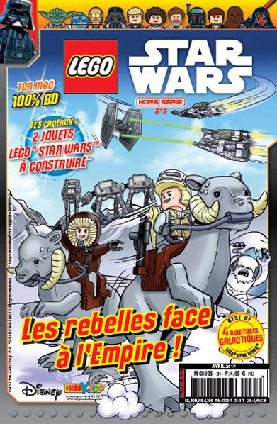 Magazine Panini STAR WARS LEGO #HS3 Captur18