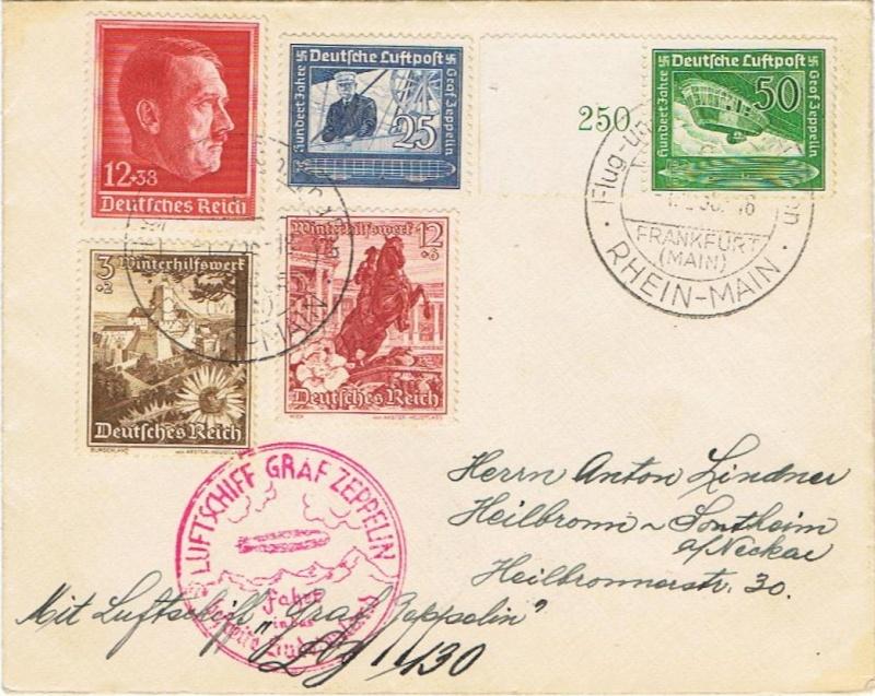 Zeppelinpost des LZ 130 - Seite 4 00112