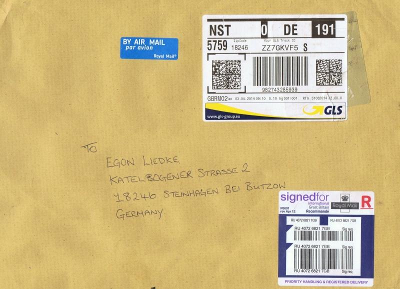Überklebte Briefmarken Ccf08010