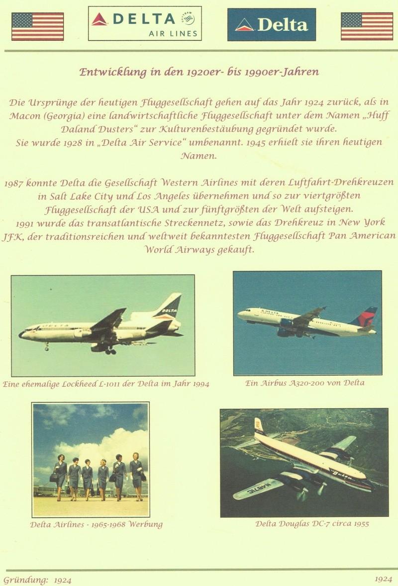 Delta Airlines Deckbl10
