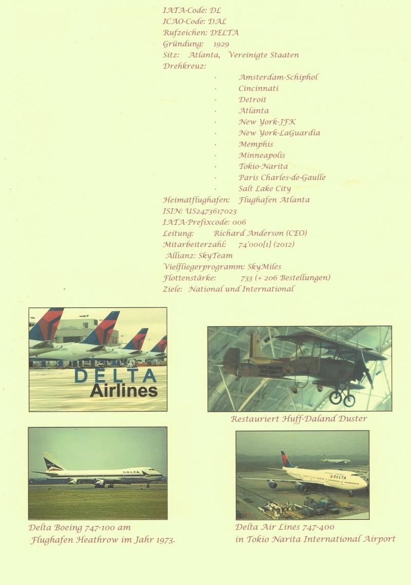Delta Airlines Deckbl11