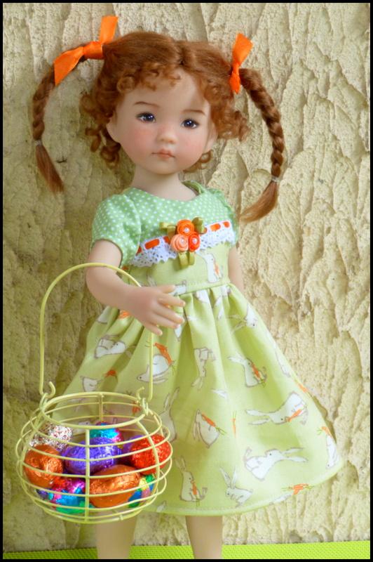 """Perrine, la petite Darling de Pâques et sa soeur, la """"nouvelle """"Eliette P1530211"""