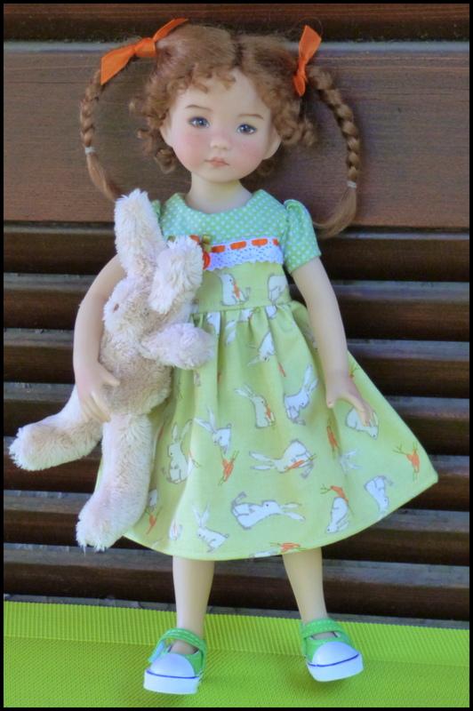 """Perrine, la petite Darling de Pâques et sa soeur, la """"nouvelle """"Eliette P1530213"""