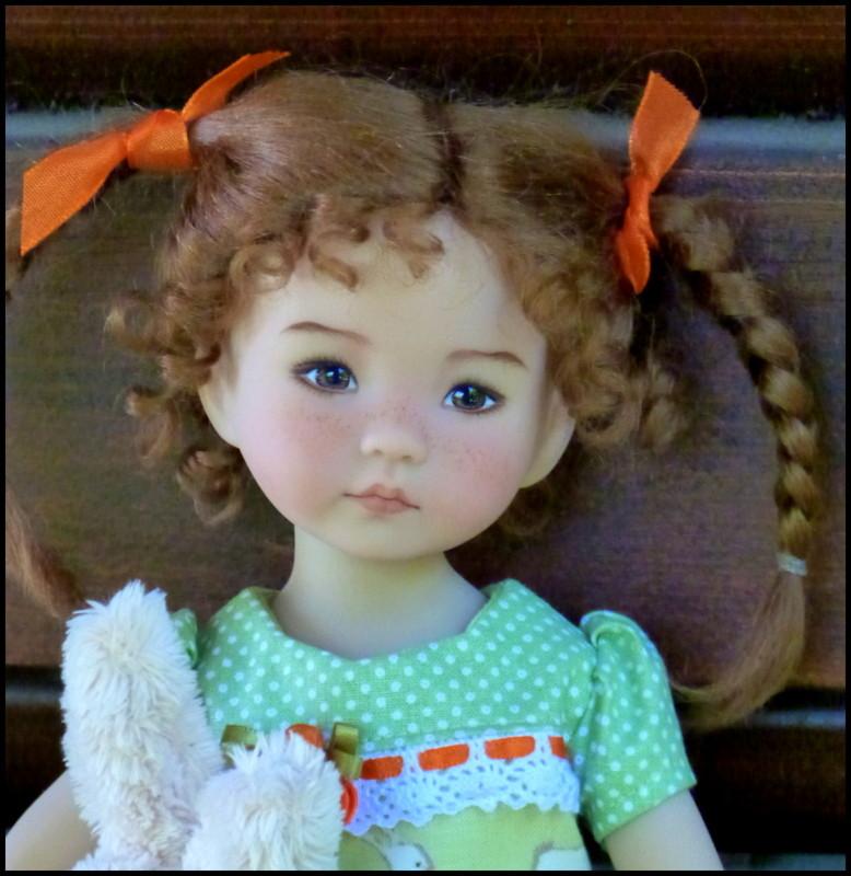 """Perrine, la petite Darling de Pâques et sa soeur, la """"nouvelle """"Eliette P1530214"""
