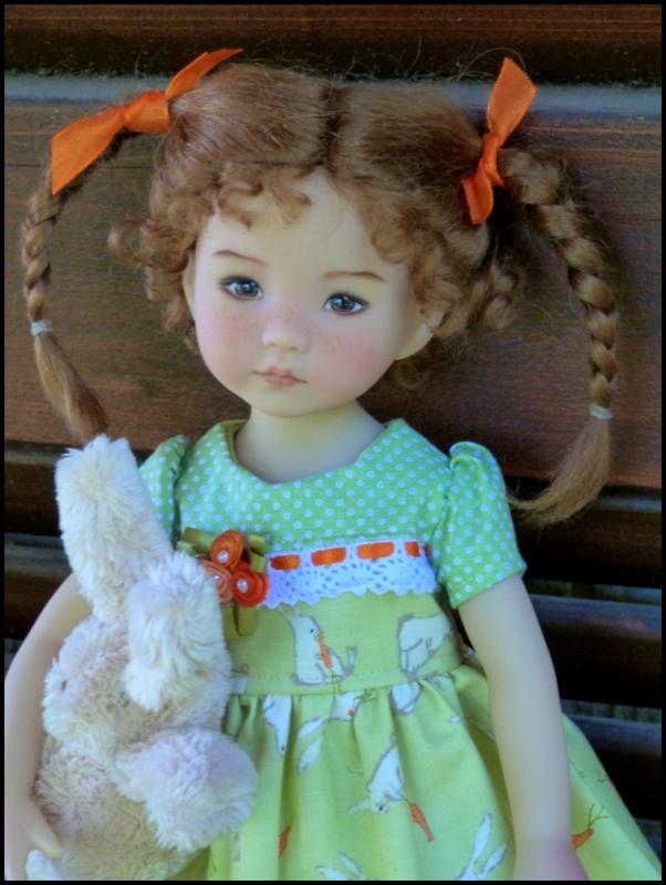 """Perrine, la petite Darling de Pâques et sa soeur, la """"nouvelle """"Eliette P1530215"""
